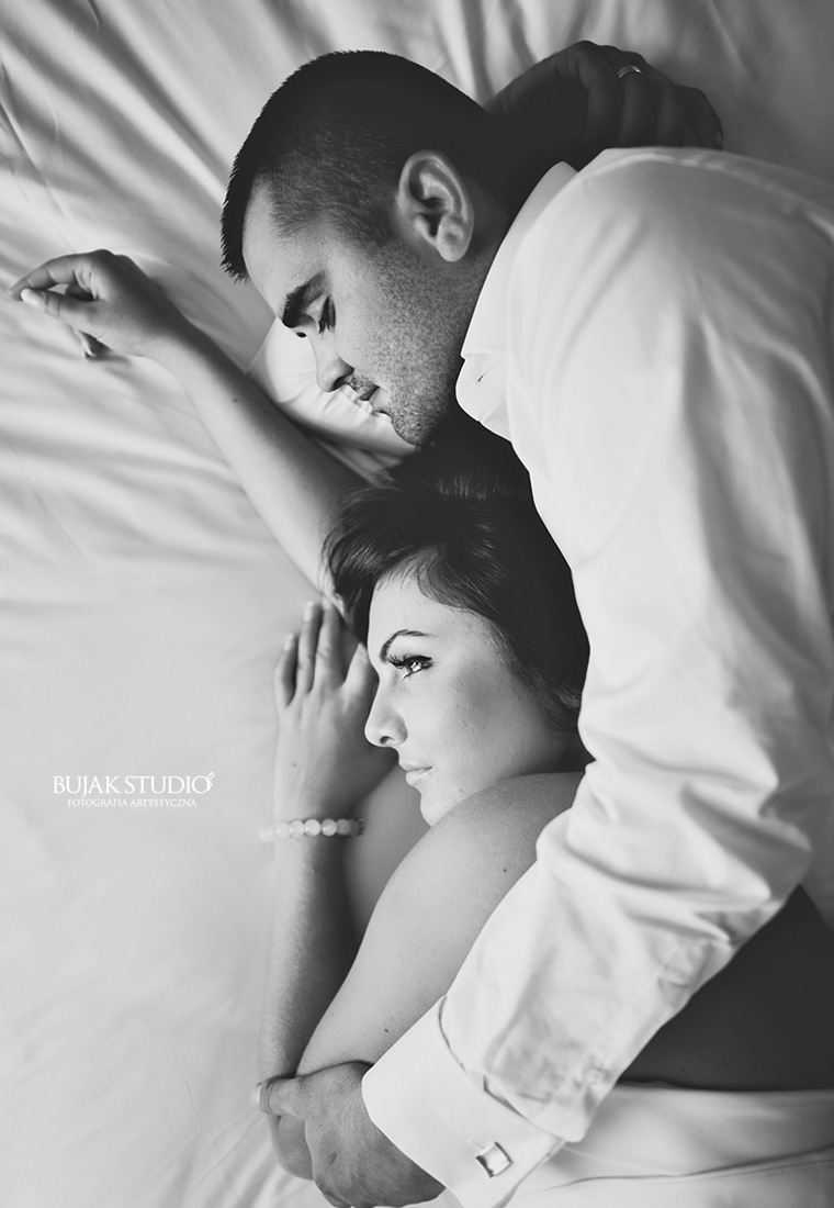 ślubna sesja sensualna