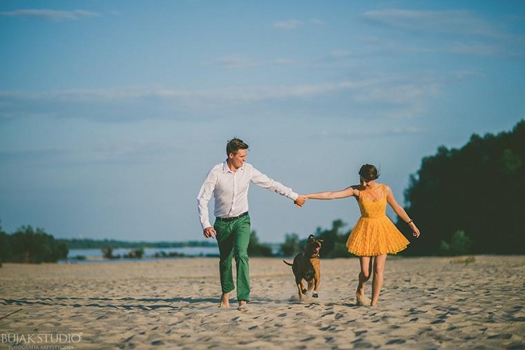 ślub na plaży w warszawie