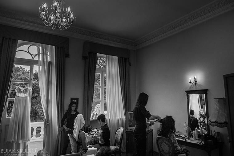 włosy na ślub od Kajetan Góra