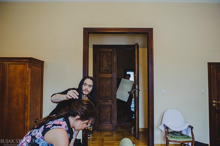 Kajetan Góra włosy
