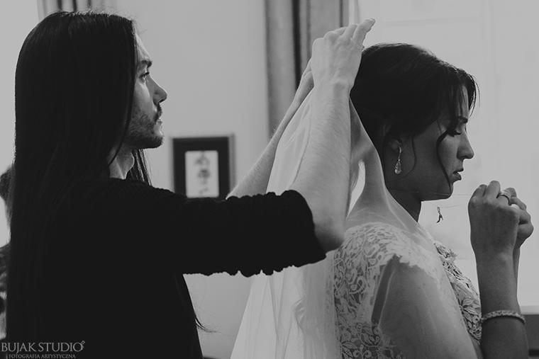 włosy na ślub Kajetan Góra