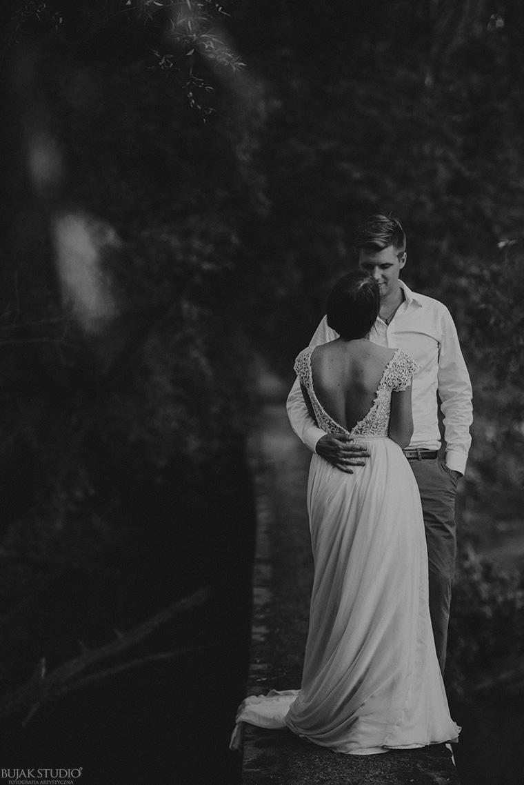 piękna sesja ślubna